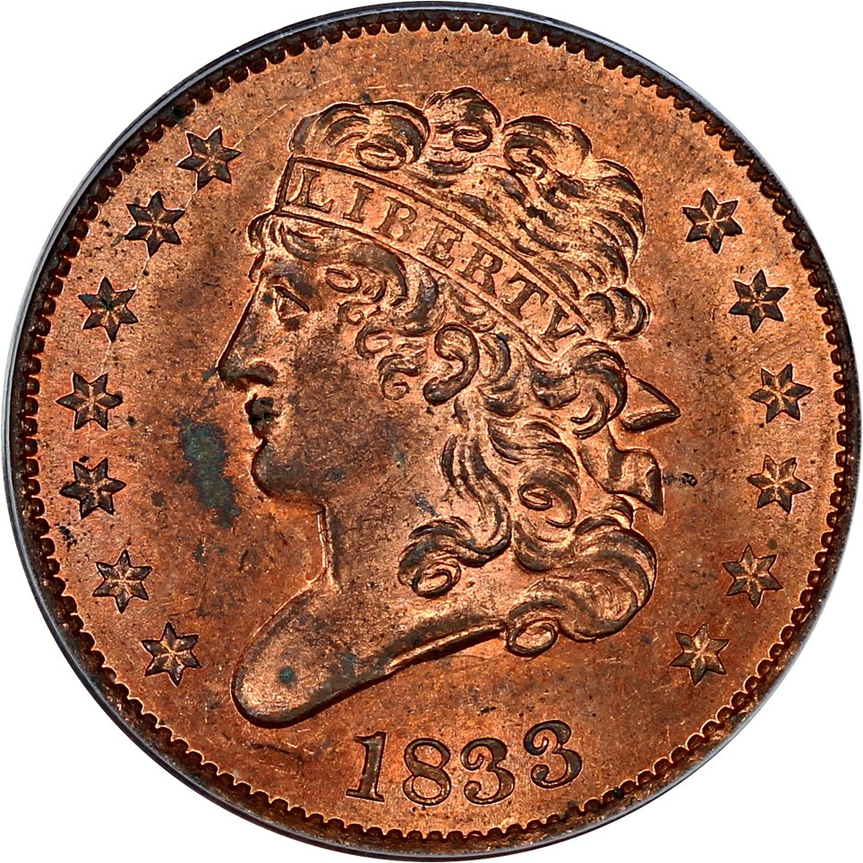 sample image for Classic Head Half Cent RD [Type]