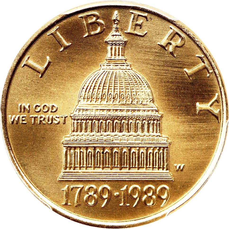 sample image for Gold Commem $5  MS [Type]