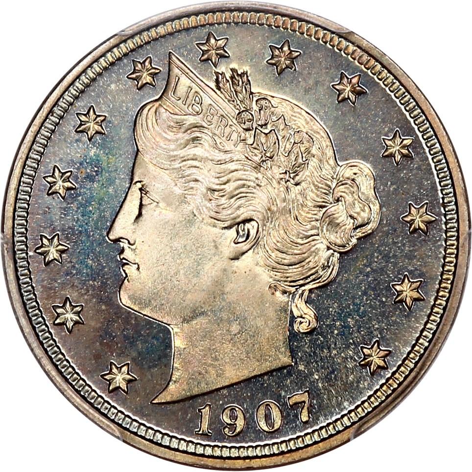 sample image for 1907 5c PR CAM