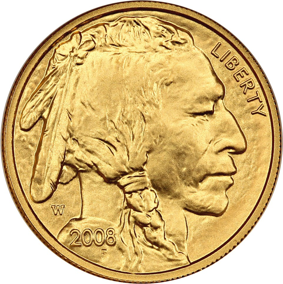 sample image for 2008-W American Buffalo $5 MS