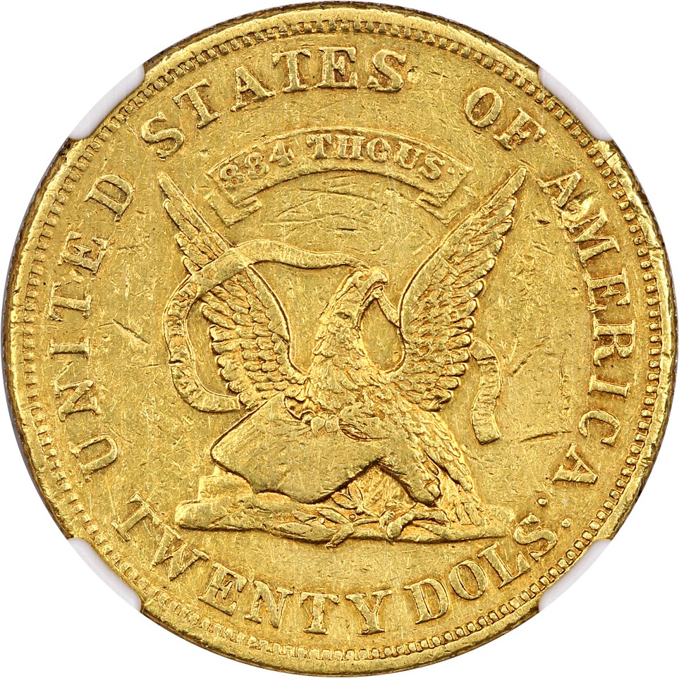 sample image for 1852/1 $20 Humbert (K-9)