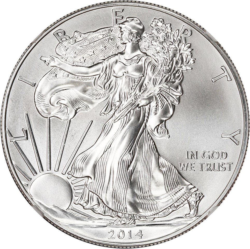 sample image for 2014 Silver Eagle $1  MS