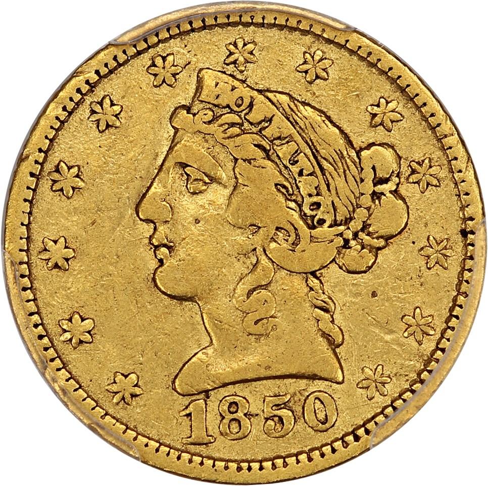 sample image for 1850 $5 Moffat