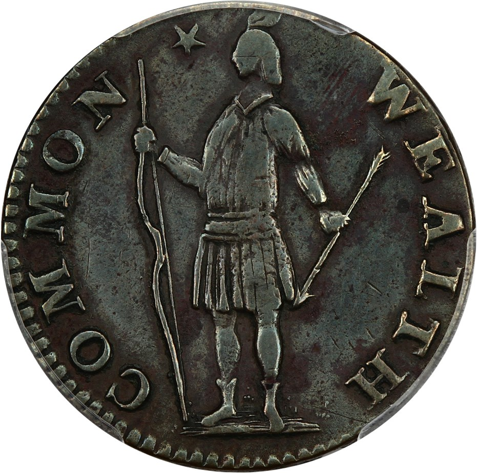 sample image for 1788 Mass Half Cent BN