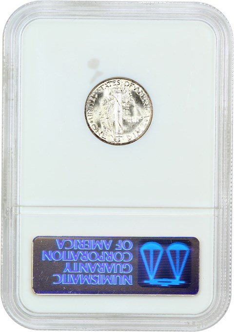 10c Dime Mercury Dime Ms67 Ngc 1945