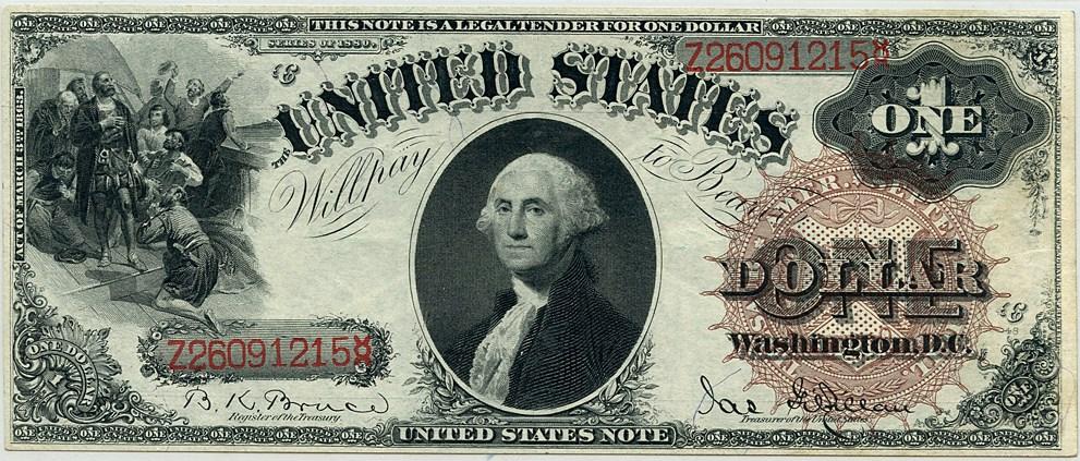 sample image for 1880 $1  (Fr.# 29)