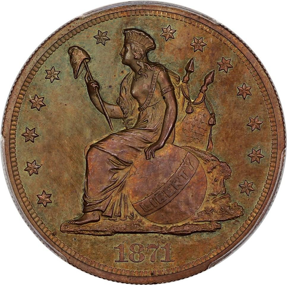 sample image for 1871 P$1 (J-1147) PR BN
