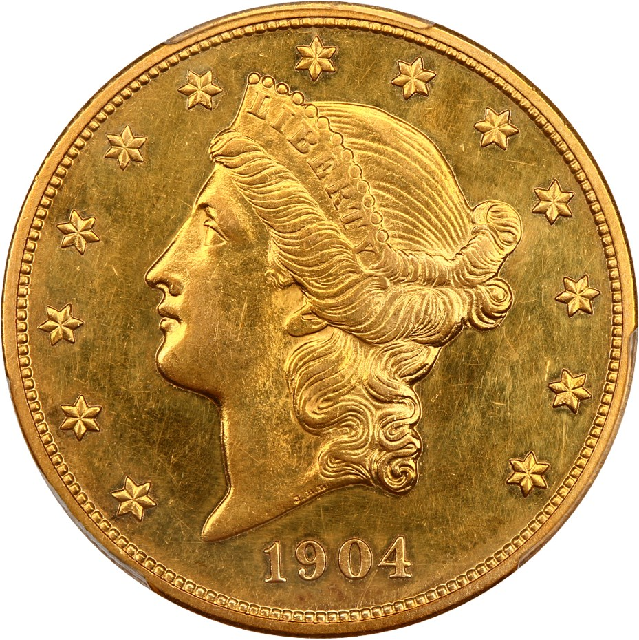 sample image for 1904 $20  PR