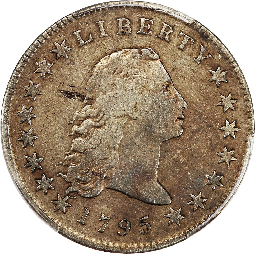 sample image for 1795 Flowing Hair $1  MS Silver Plug