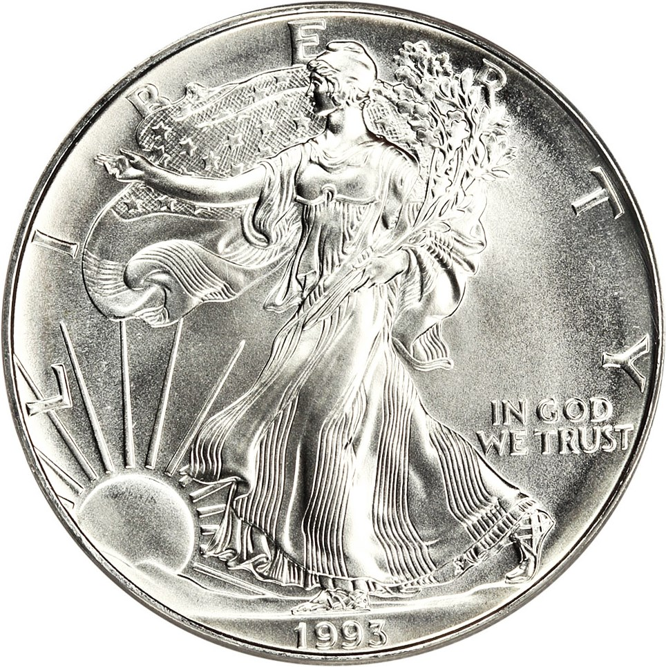 sample image for 1993 Silver Eagle $1  MS
