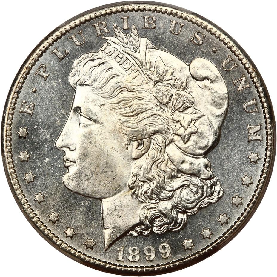sample image for 1899-S $1  MS DMPL