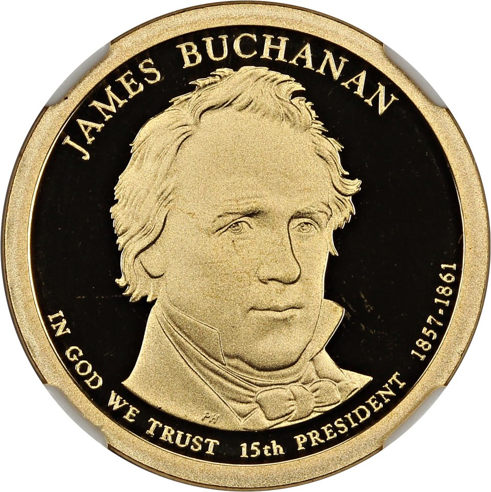 sample image for 2010-S James Buchanan $1  PR DCAM