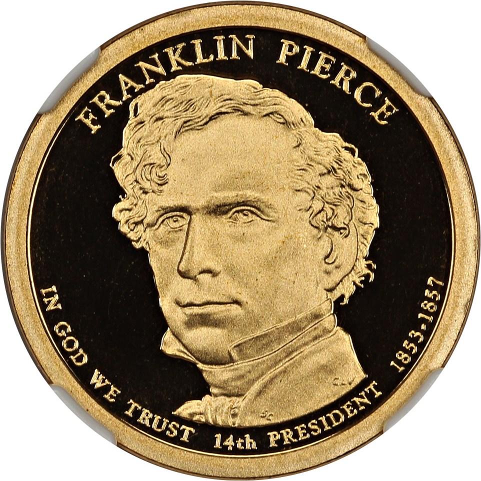 sample image for 2010-S Franklin Pierce $1  PR DCAM