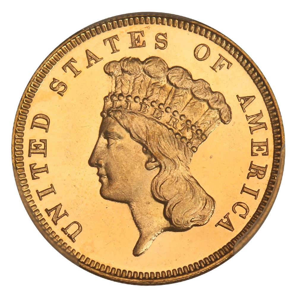 sample image for 1884 $3  PR DCAM