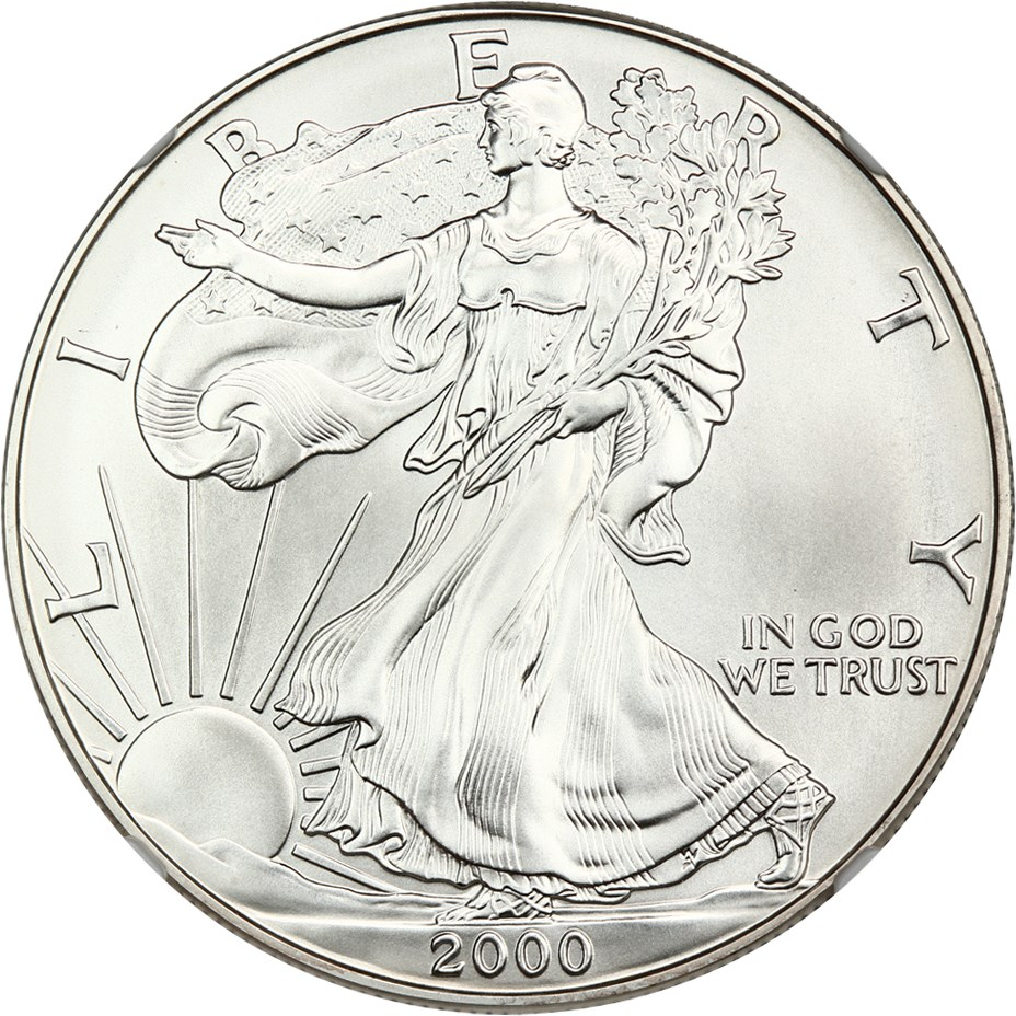 sample image for 2000 Silver Eagle $1  MS