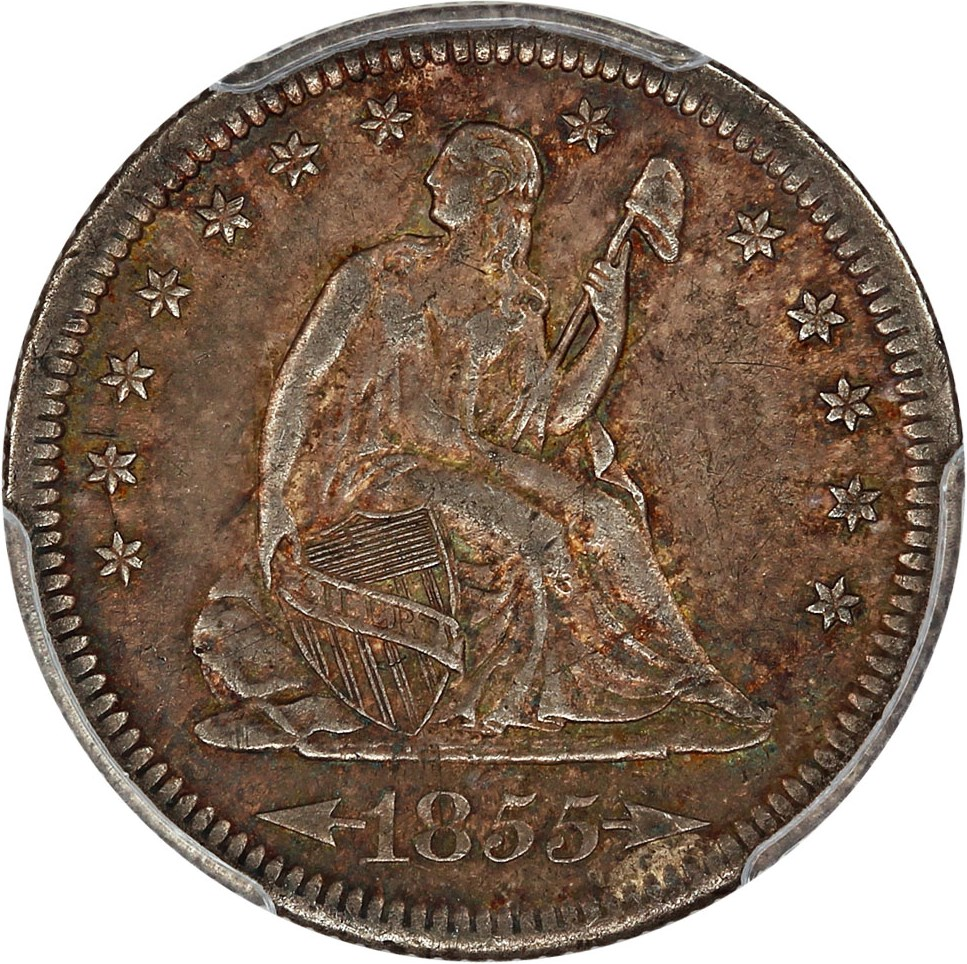 sample image for 1855-S 25c MS Arrows