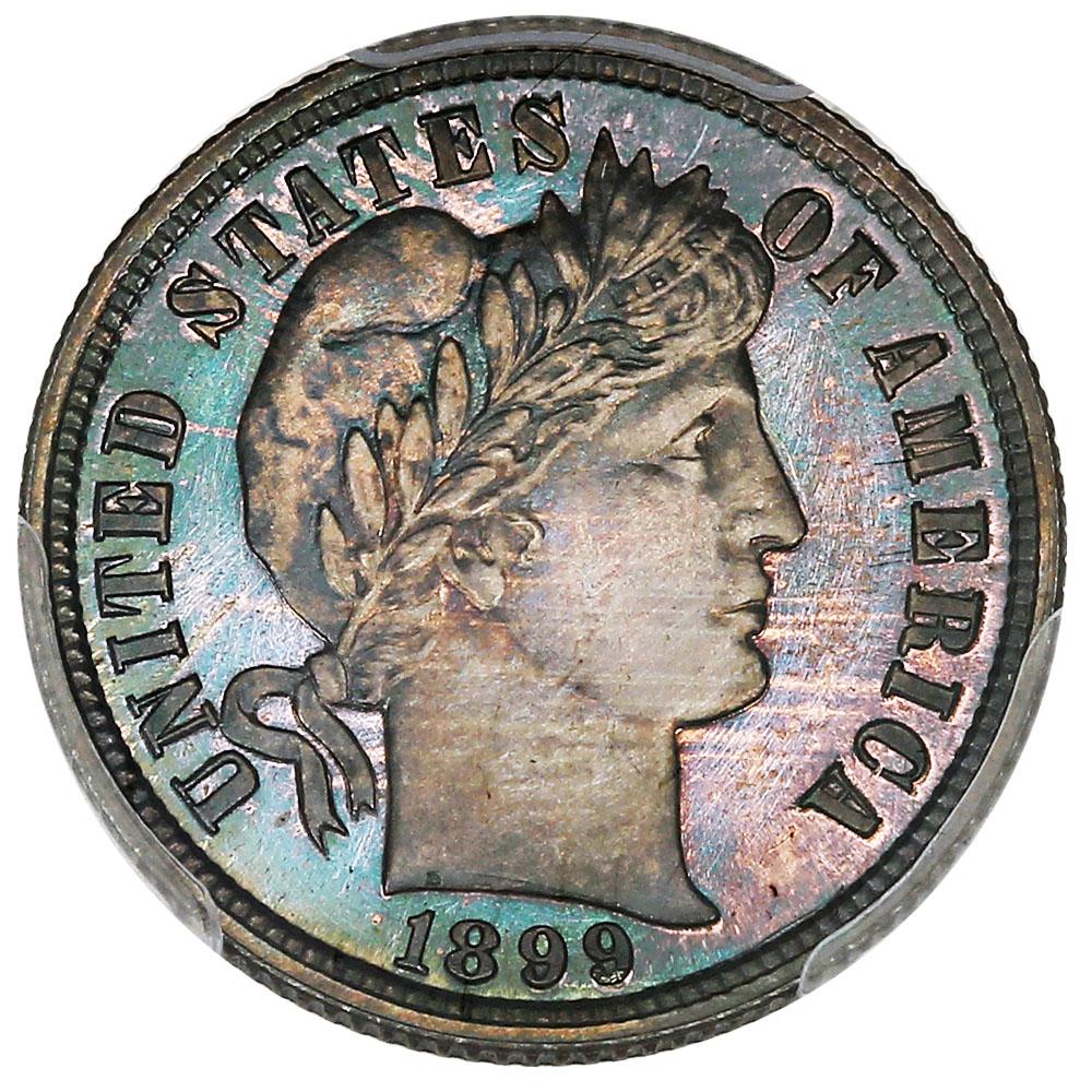 sample image for 1899 10c PR
