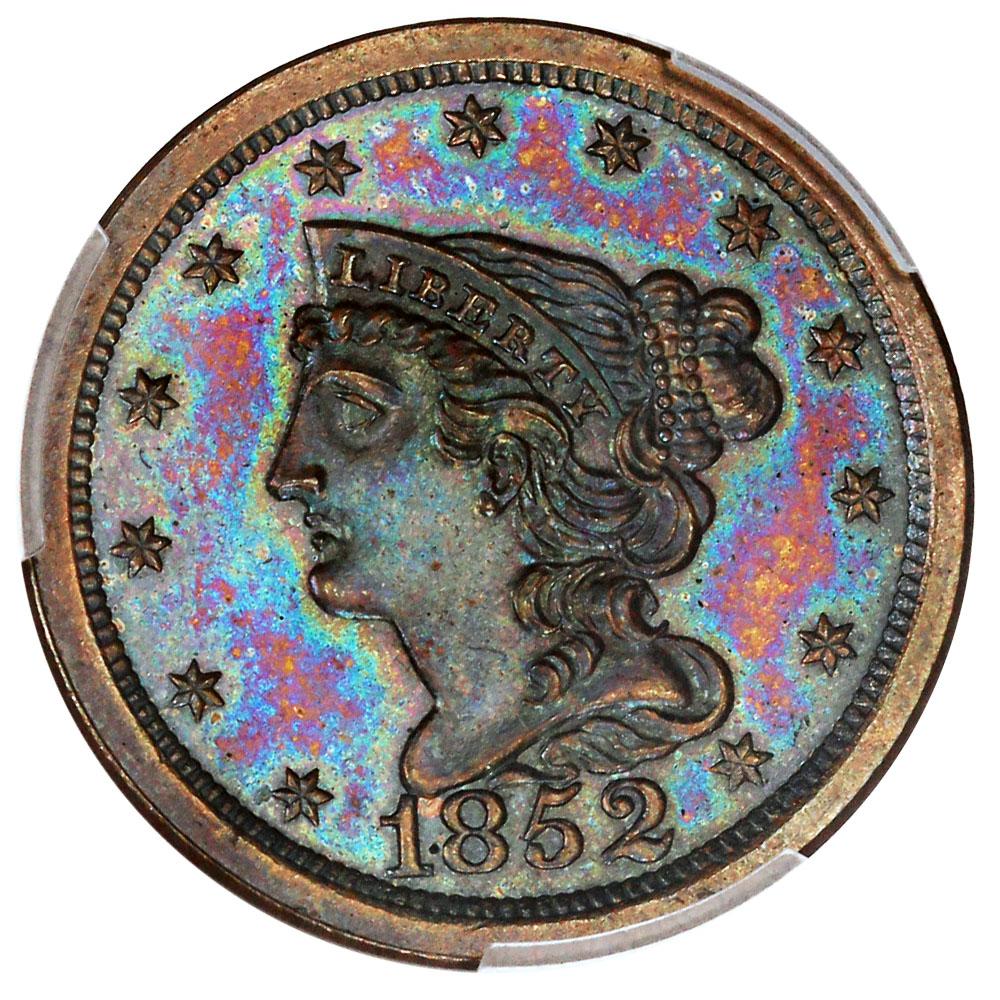 sample image for 1852 Restrike BN