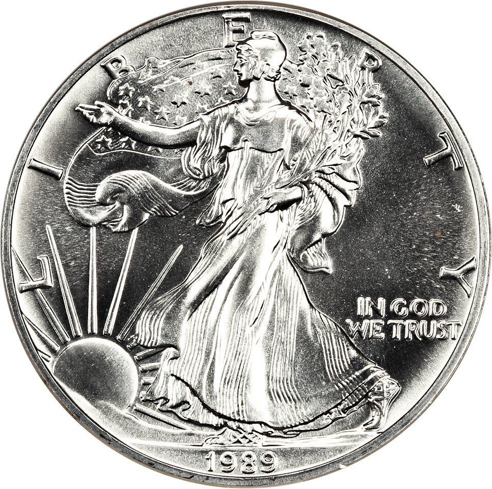 sample image for 1989 Silver Eagle $1  MS