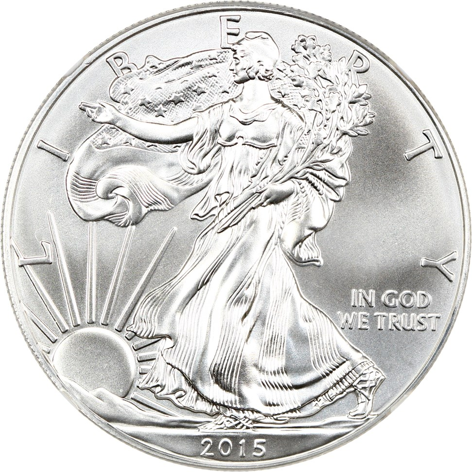 sample image for 2015 Silver Eagle $1  MS