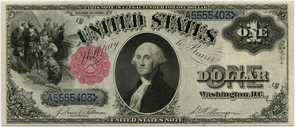 sample image for 1880 $1  (Fr.# 35)