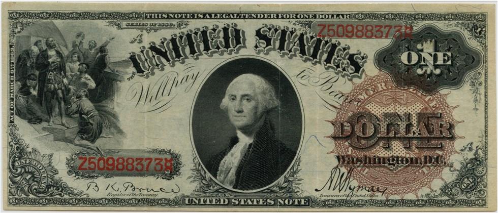 sample image for 1880 $1  (Fr.# 30)