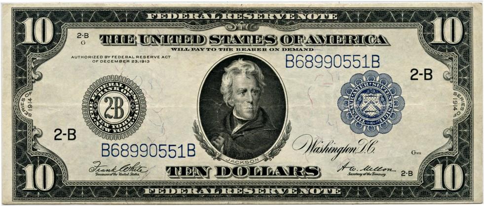 sample image for Fr.911A $10 NY