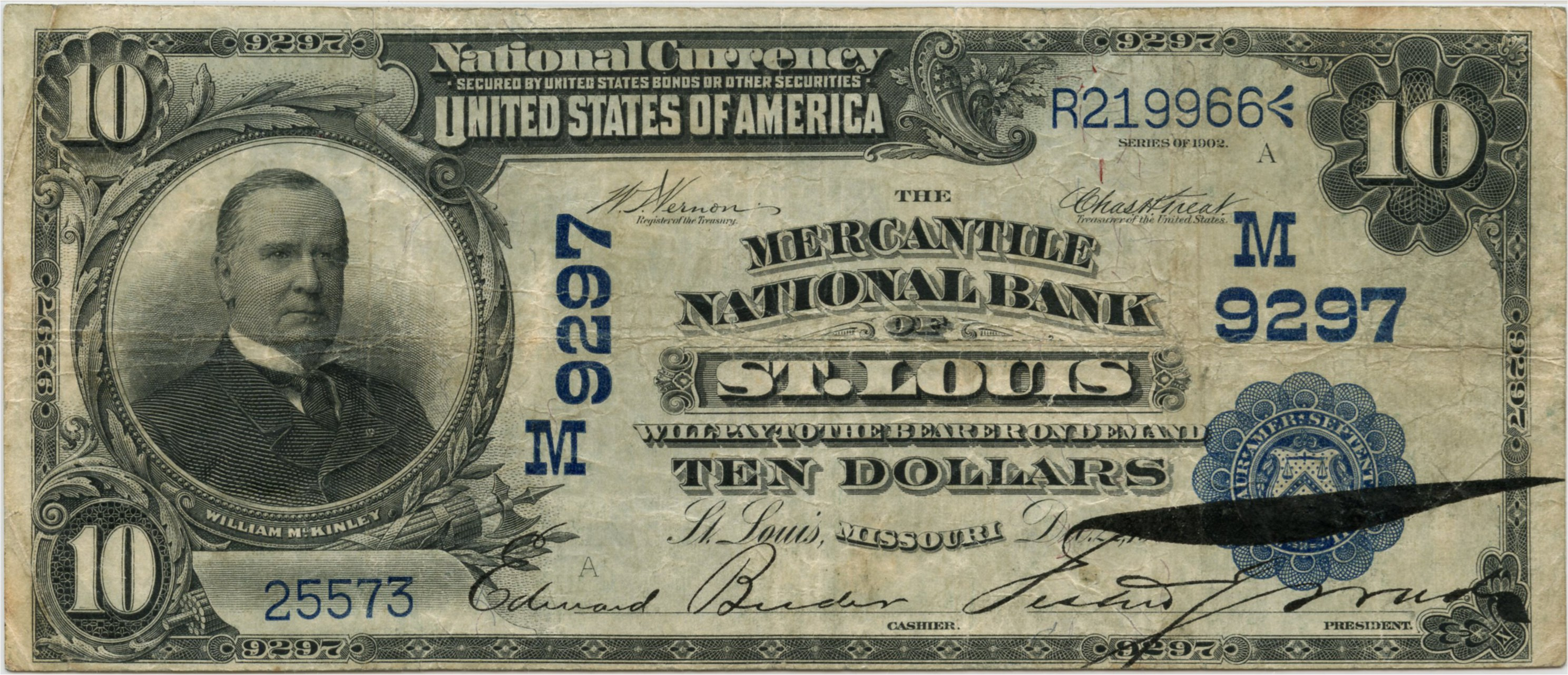sample image for 1902 3rd Charter Period $10  Date Back 2nd Issue (Fr.# 618)