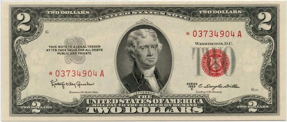 sample image for 1953C $2  (Fr.# 1512)