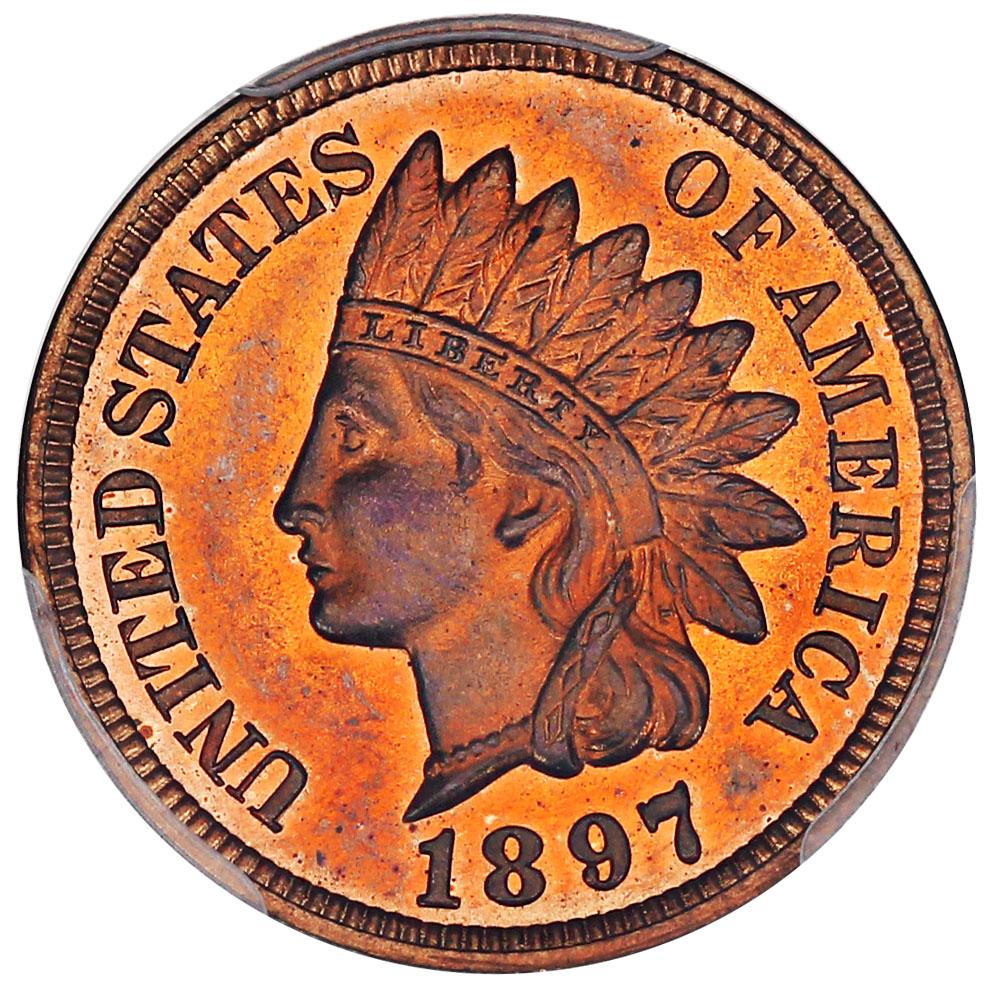 sample image for 1897 1c PR RB