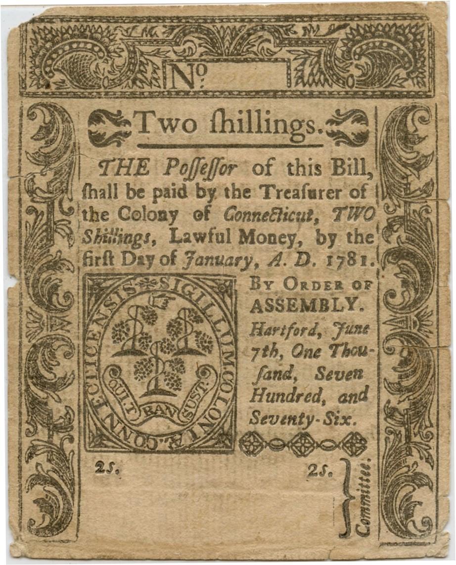 sample image for 1776 1-Jul 2s (Fr.# CT196)