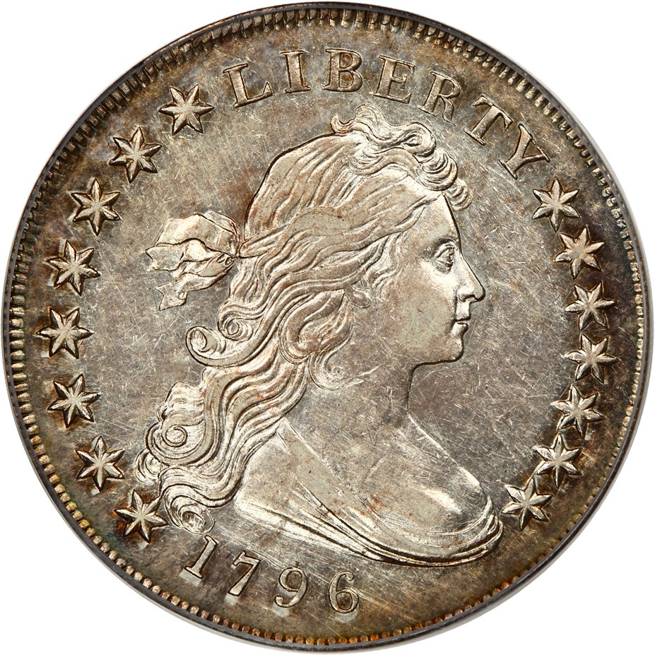 sample image for 1796 $1  MS Small Date, Small Letters