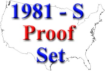 sample image for 1981-S Ty2 Proof Set 1c-$1 PR DCAM