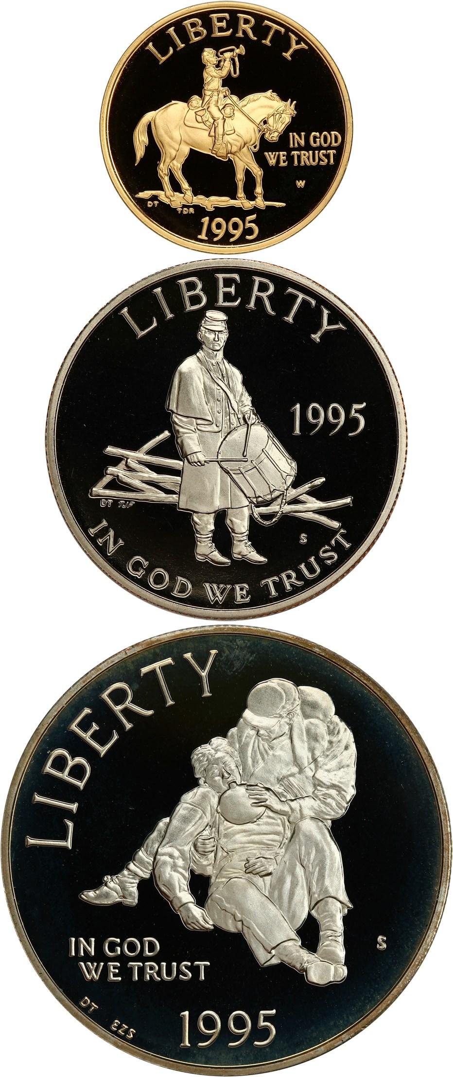 sample image for 1995 Civil War 2pc PR
