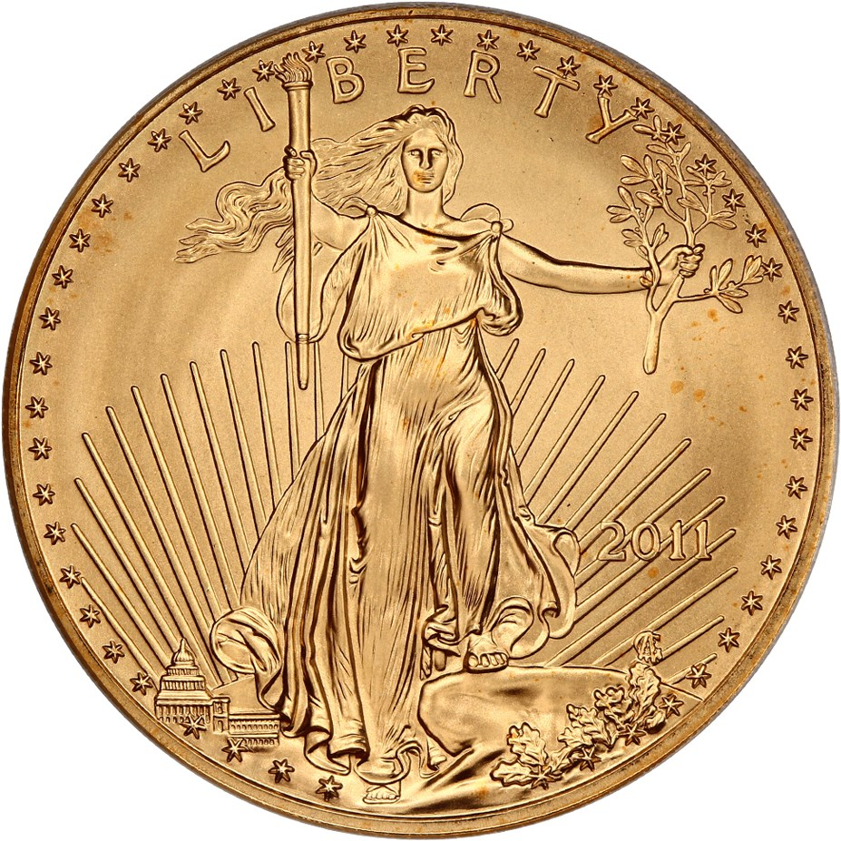 sample image for 2011 Gold Eagle $50  MS