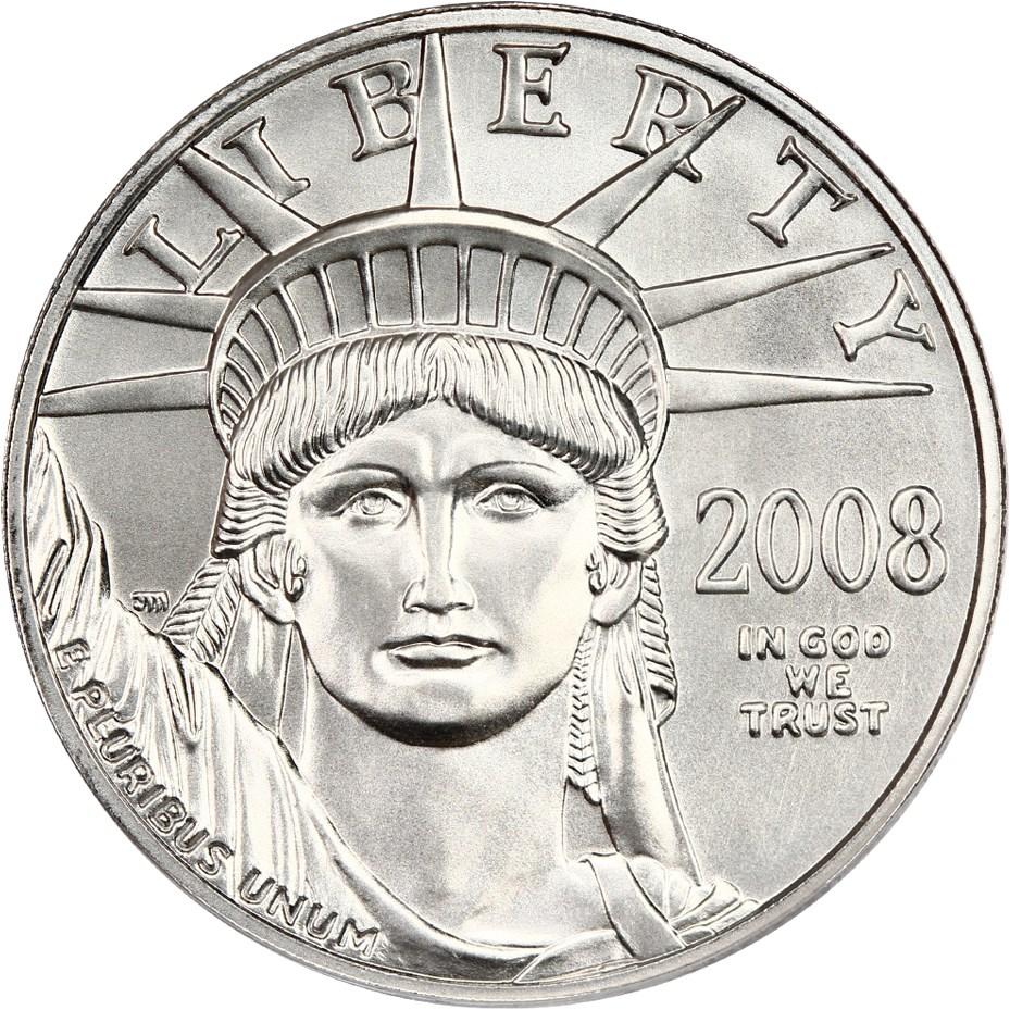 sample image for 2008 Platinum Eagle $100  MS