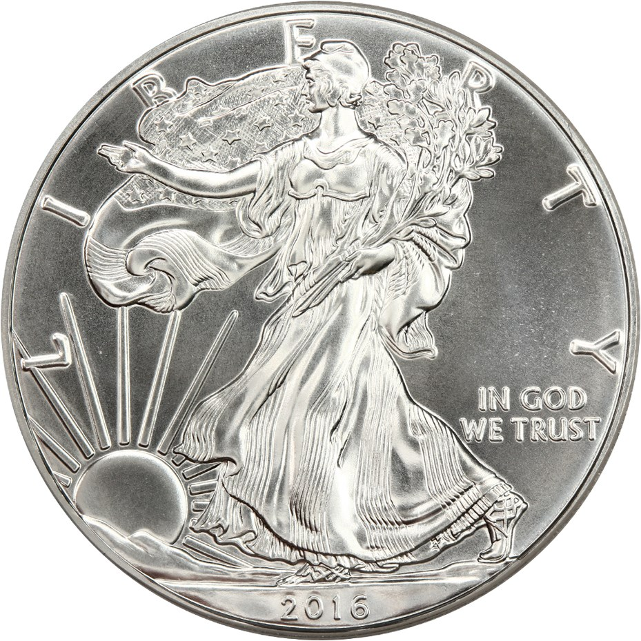 sample image for 2016 Silver Eagle $1  MS 30th Anniversary