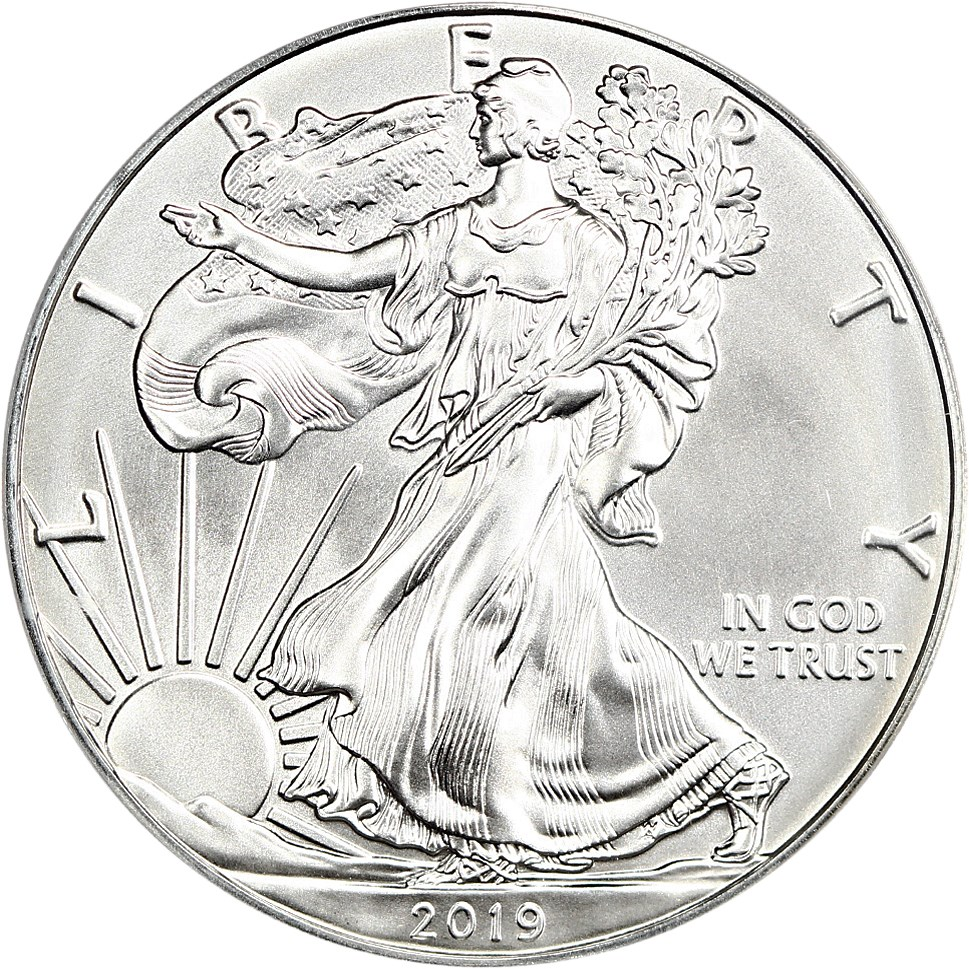 sample image for 2019 Silver Eagle $1  MS