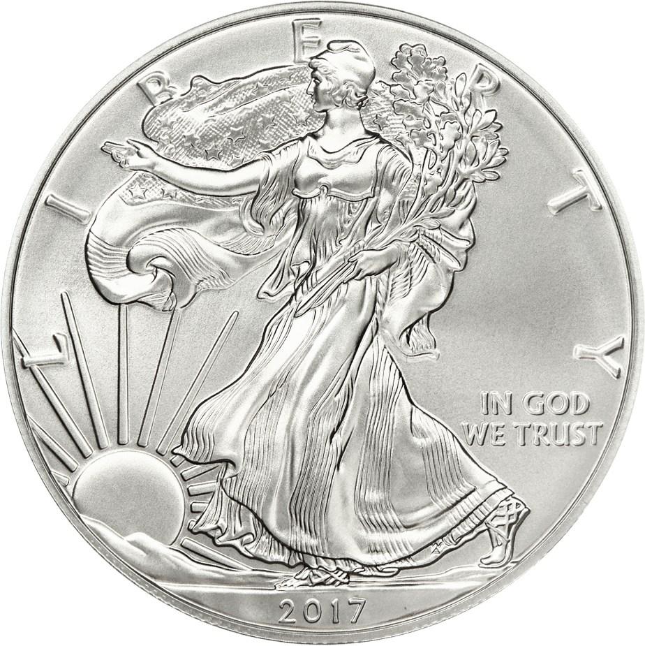 sample image for 2017-W Silver Eagle $1  PR DCAM