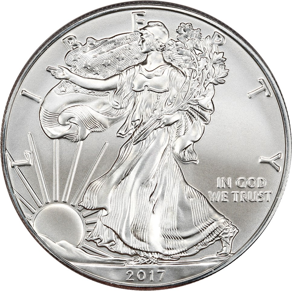 sample image for 2017 Silver Eagle $1  MS