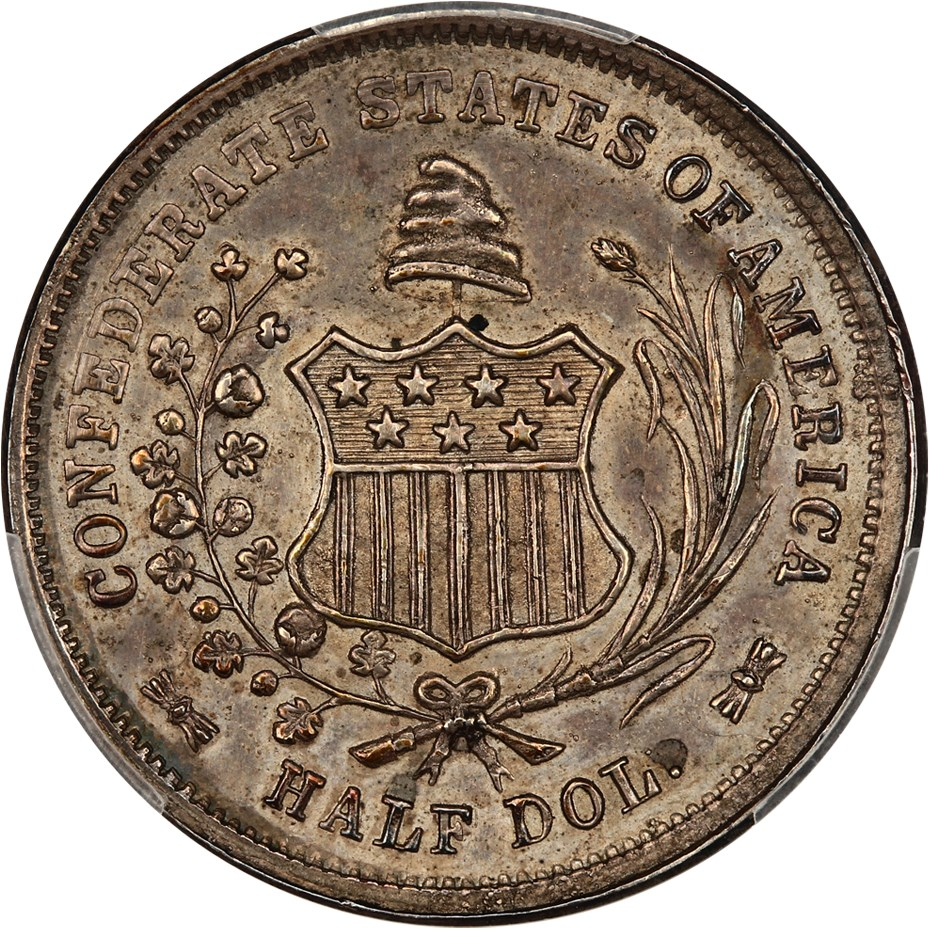 sample image for 1861 CSA 50c MS Restrike