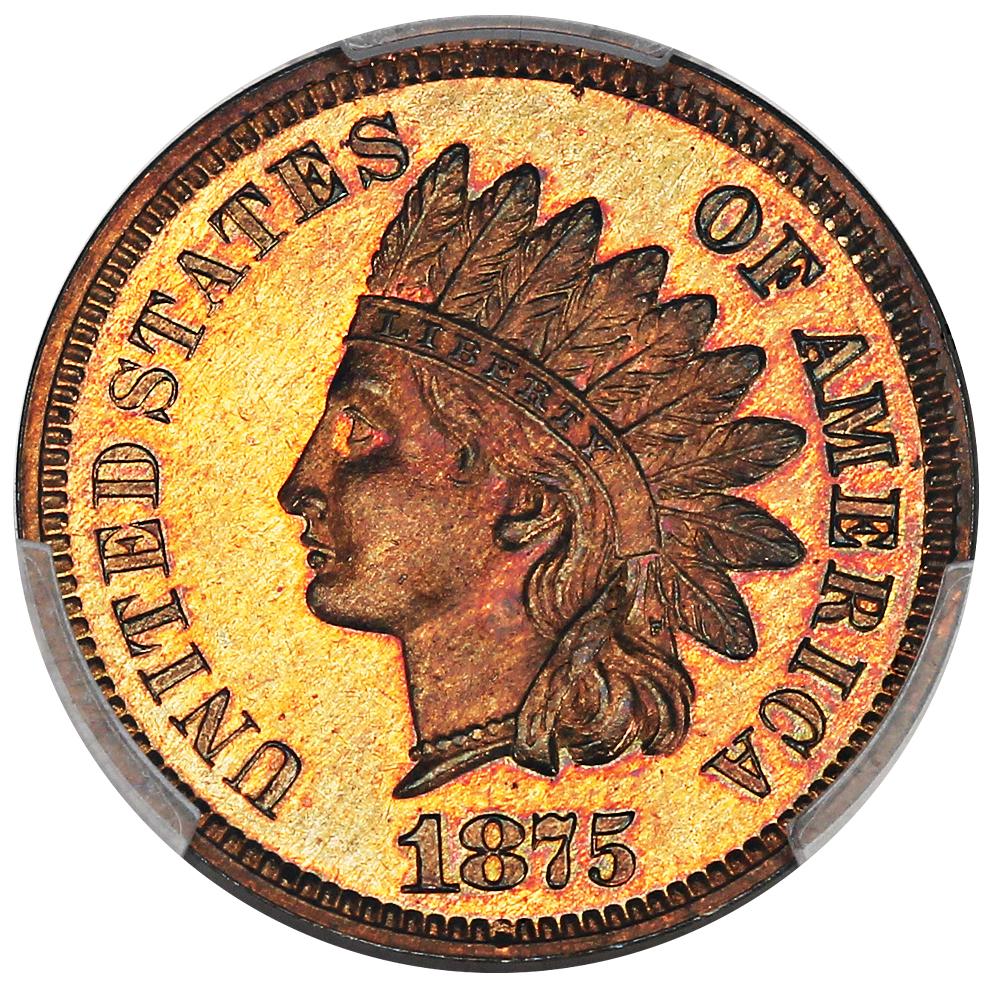 sample image for 1875 1c PR RB