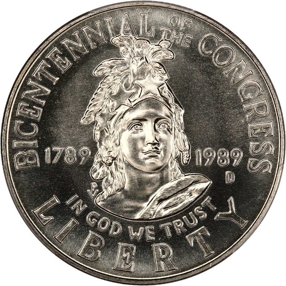 sample image for 1989-D Congress 50c MS
