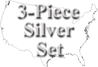 sample image for 1976 3-piece Silver Mint Set 25c-$1 MS
