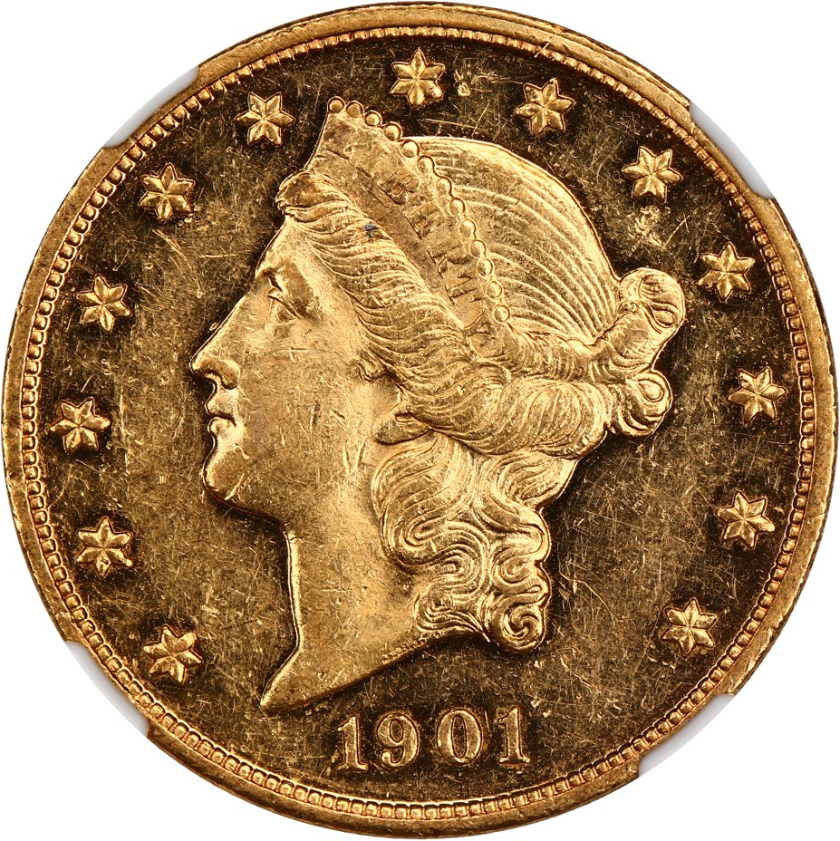 sample image for 1901 $20  PR CAM