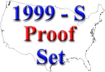 sample image for 1999-S Proof Set 1c-50c PR DCAM 9 Coins