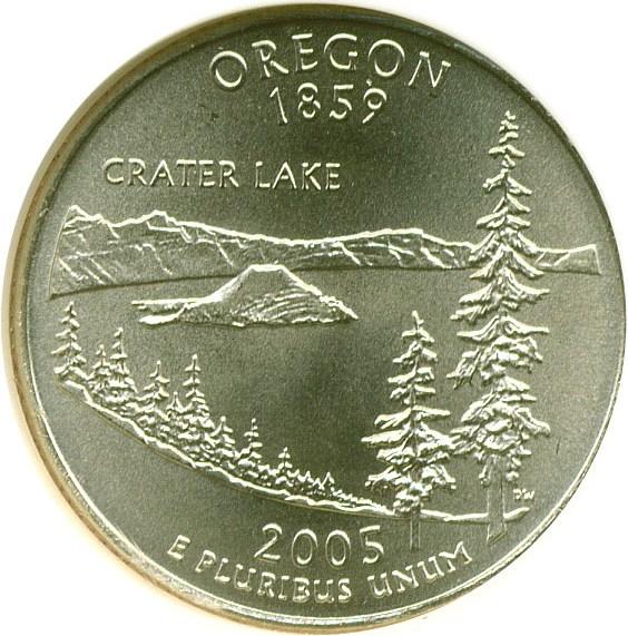 sample image for 2005-D Oregon 25c SP Satin Finish