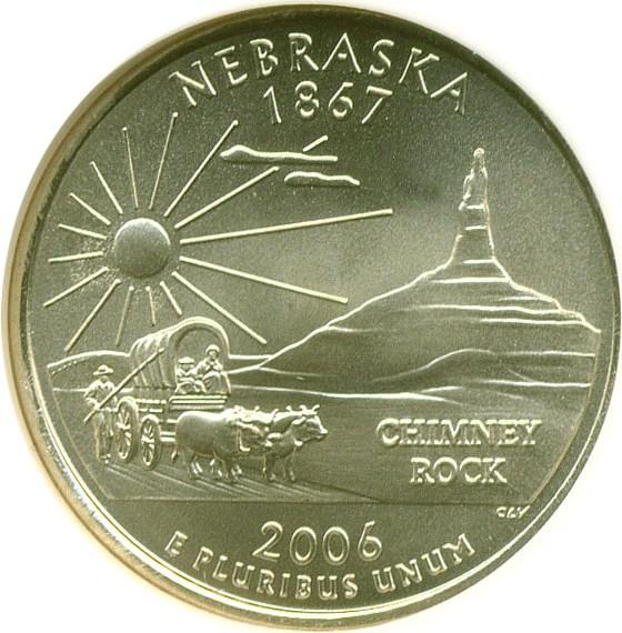 sample image for 2006-P South Dakota 25c SP Satin Finish