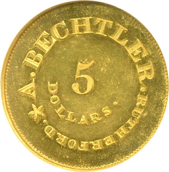 sample image for C.Becht $5 Res
