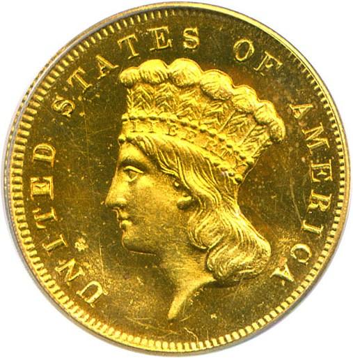 sample image for 1871 $3  PR
